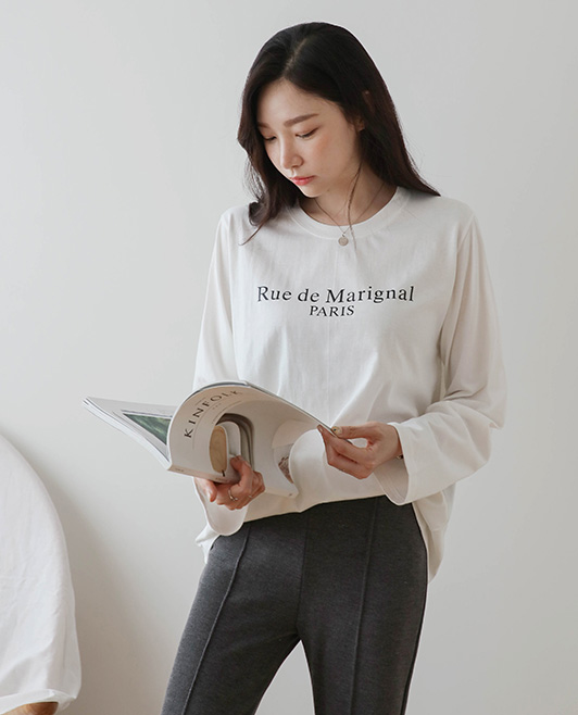 <br> 7DA17931AA_メゾンレタリングベーシックTシャツ